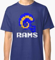 Tecmo Bowl, Tecmo Super Bowl, Tecmo Bowl Shirt, Tecmo Bowl T-shirt, Tecmo Bowl Helmet, Bo Jackson, Football, LA Helmet, LA Classic T-Shirt