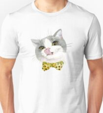 Cat with Bow T-Shirt