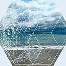 Nature and Geometry - The beach by Denis Marsili