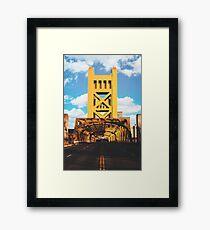 Die Turm-Brücke - Sacramento, CA Gerahmtes Wandbild
