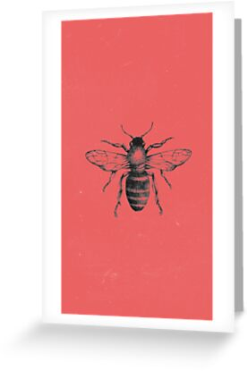 Halsey bee greeting cards by jenhrdy redbubble halsey bee by jenhrdy m4hsunfo