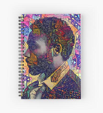 Abstract Donald Glover Spiral Notebook