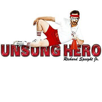 "Richard Speight Jr ""Unsung Hero"" T-Shirt by IAmTumblweeeed"