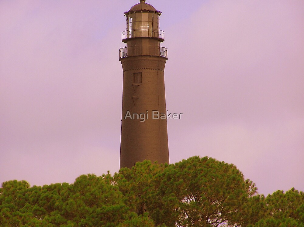 The Lighthouse by Angi Baker