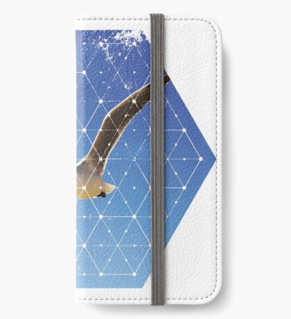 Nature and Geometry - The Seagull iPhone Wallet