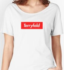 Terryfold Women's Relaxed Fit T-Shirt