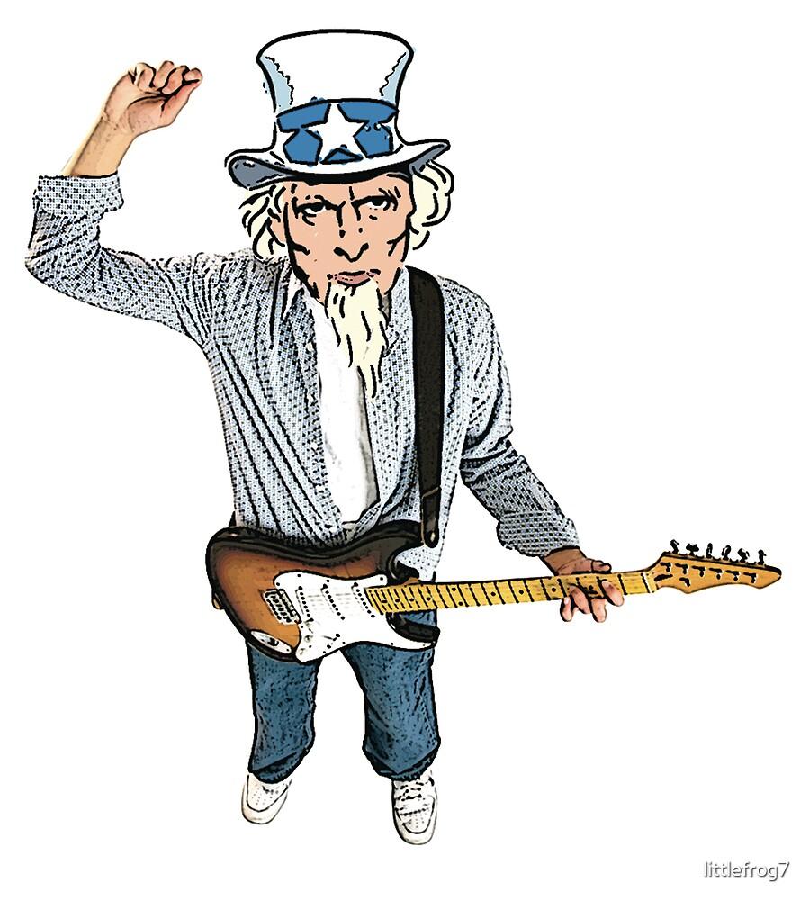 Uncle Sam Rocking by littlefrog7