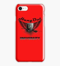 Geek Funny Hang Out with Friends University t shirt  iPhone Case/Skin