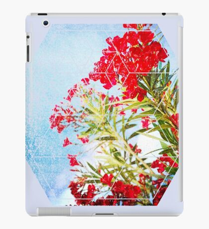 Nature and Geometry - Flowers iPad Case/Skin