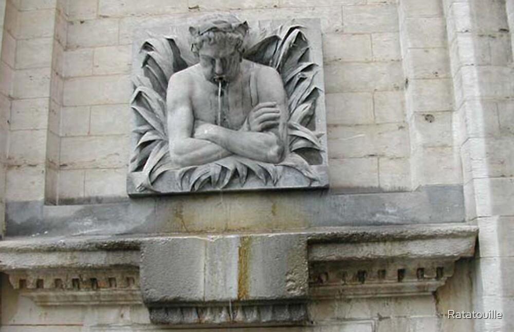 La Fontaine a Bruxelles by Ratatouille