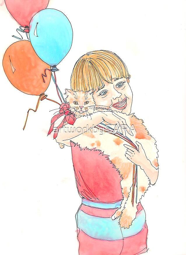 Whisker's Birthday by artworkbySARA