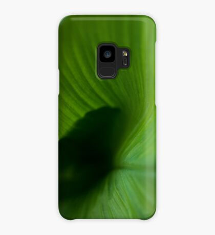 Wave of Green Case/Skin for Samsung Galaxy