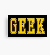 Geek Canvas Print