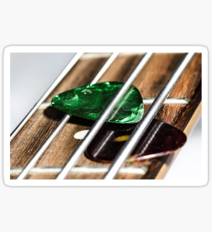 Frets and Plectrums Sticker