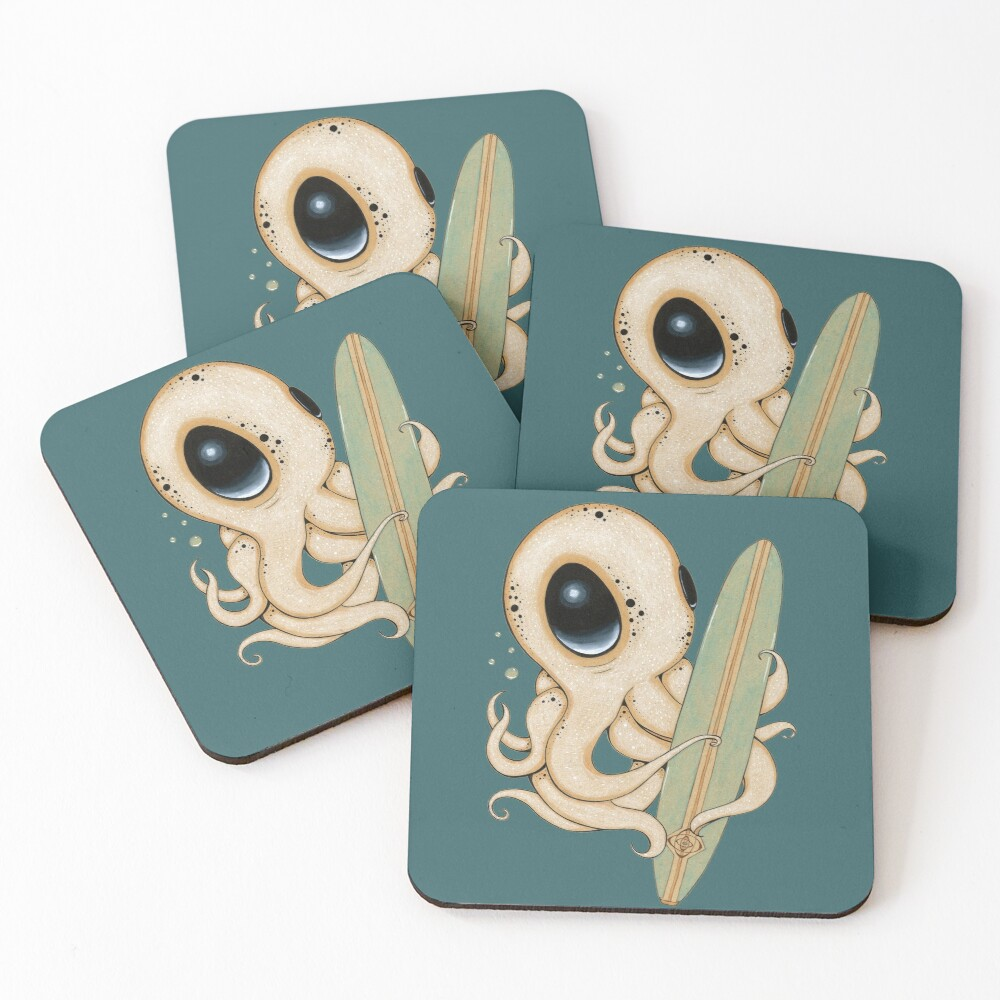 Surf's Up Coasters (Set of 4)