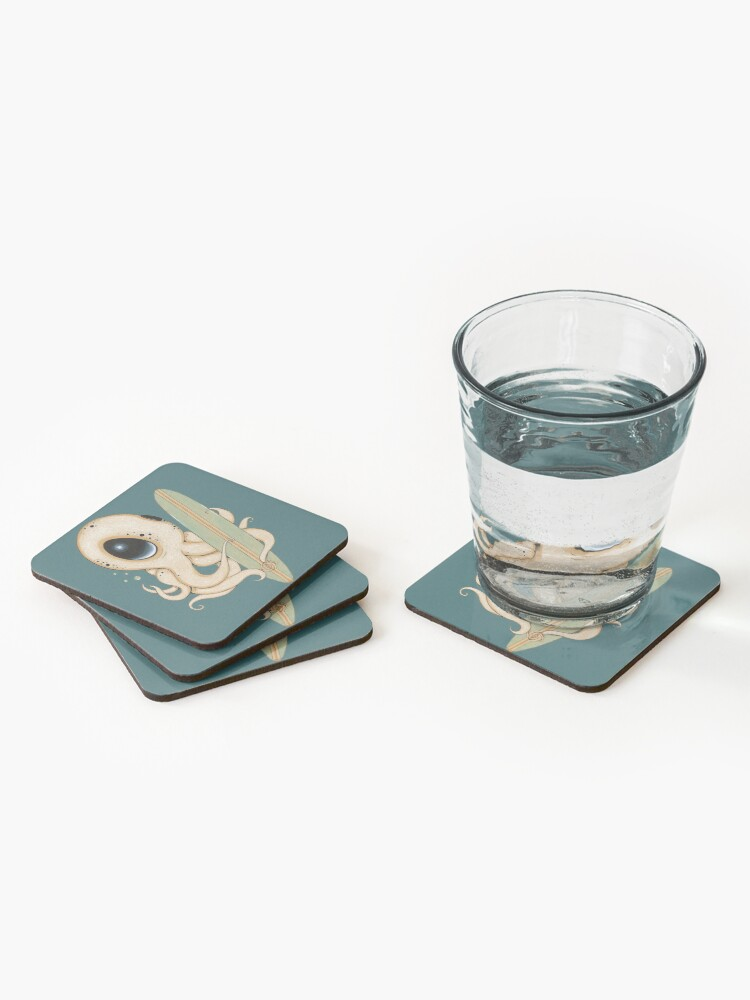 Alternate view of Surf's Up Coasters (Set of 4)
