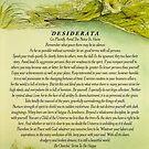 Green River Desiderata by Max Ehrmann by Desiderata4u