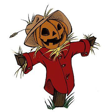 Autumn Scarecrow by SuspendedDreams