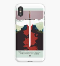Game of Thrones Poster – The Man Who Passes the Sentence	 iPhone Case/Skin