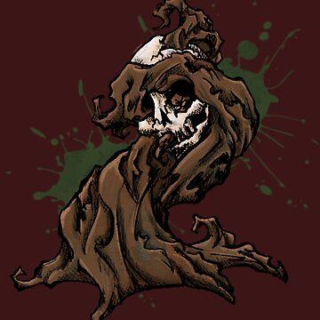 Halloween Skull Tree by SuspendedDreams