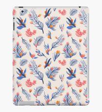Succulent garden pattern on cream iPad Case/Skin
