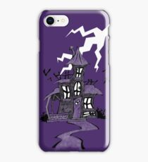 Halloween Spooky Haunted House iPhone Case/Skin