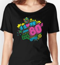 I Love The 80's Retro Eighties Women's Relaxed Fit T-Shirt