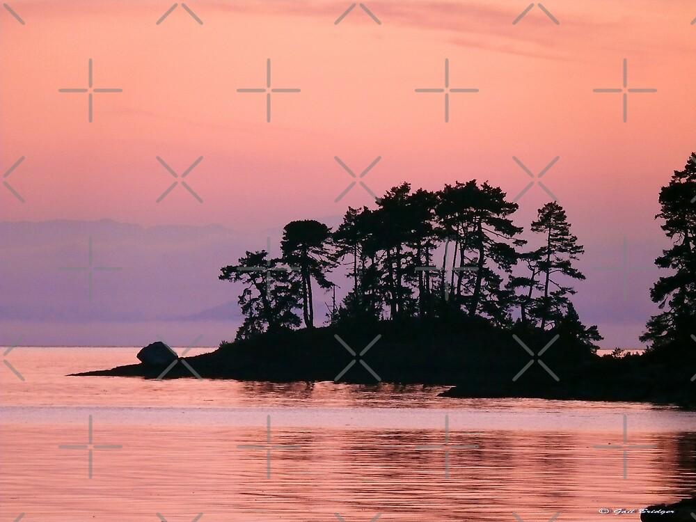 Sunrise At Rock Point III by Gail Bridger