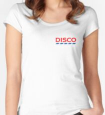 Disco Tesco Women's Fitted Scoop T-Shirt