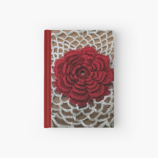 Rose Lace Hardcover Journal