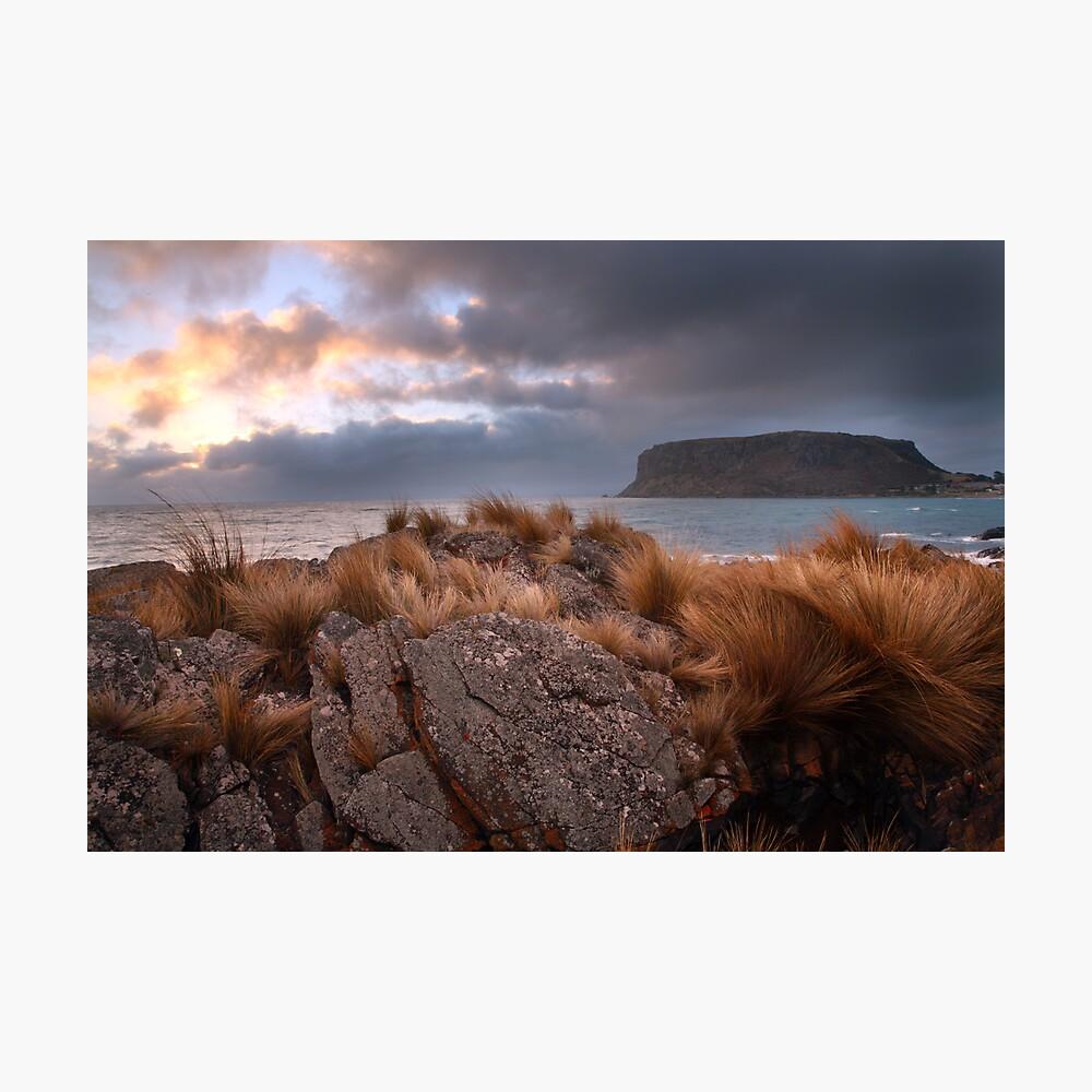 The Nut, Tasmania, Australia Photographic Print