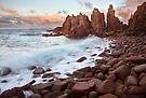 The Pinnacles, Philip Island, Australia by Michael Boniwell