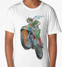 KAMEN RIDER V3 MOTORCYCLE Long T-Shirt