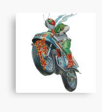 KAMEN RIDER V3 MOTORCYCLE Canvas Print