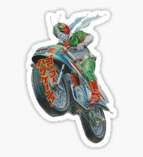KAMEN RIDER V3 MOTORCYCLE Sticker