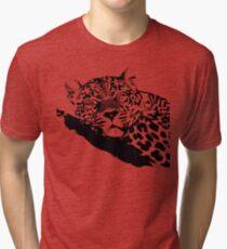 LEOPARD VECTOR Tri-blend T-Shirt