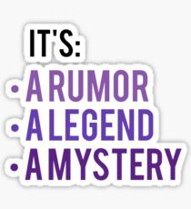 It's A Rumor, A Legend A Mystery - Anastasia Musical Sticker