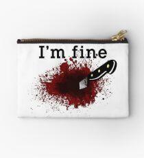 I'm Fine Bloody Wound Studio Pouch
