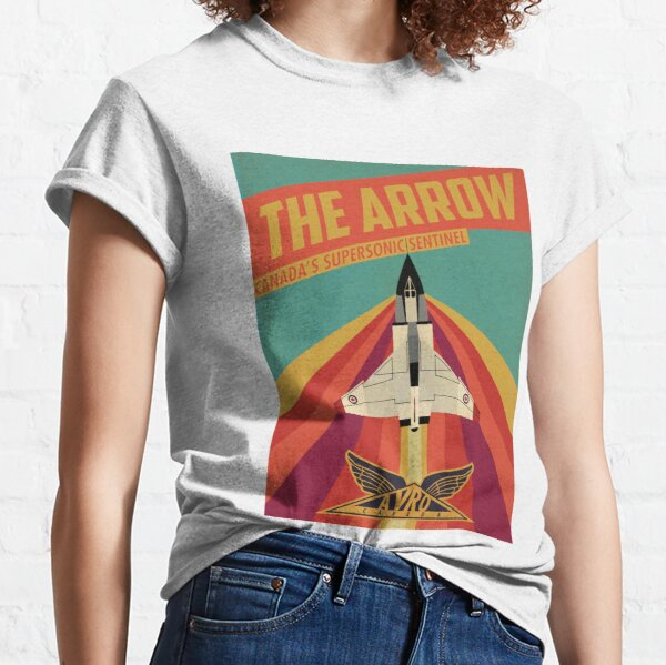 The Arrow: Canada's Supersonic Sentinel Classic T-Shirt