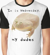 It is Wednesday, my dudes!  Graphic T-Shirt