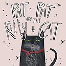 Pat pat on the kitty cat by Susan Mitchell