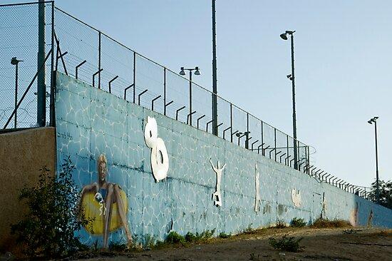 Graffiti Wall by Michael Redbourn