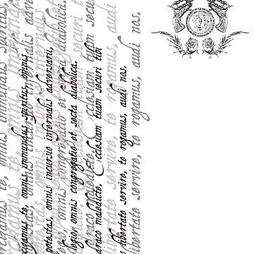 Grayscale Exorcizamus te...  by WaisChoice
