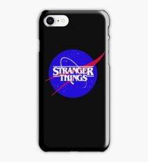 Stranger Things NASA iPhone Case/Skin