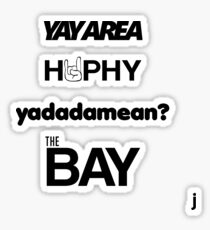 Bay Area Sticker Pack (Rabatt!) Sticker