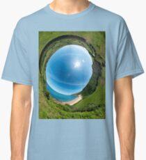 Kinnagoe Bay - Sky In Classic T-Shirt