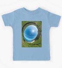 Kinnagoe Bay - Sky In Kids Tee