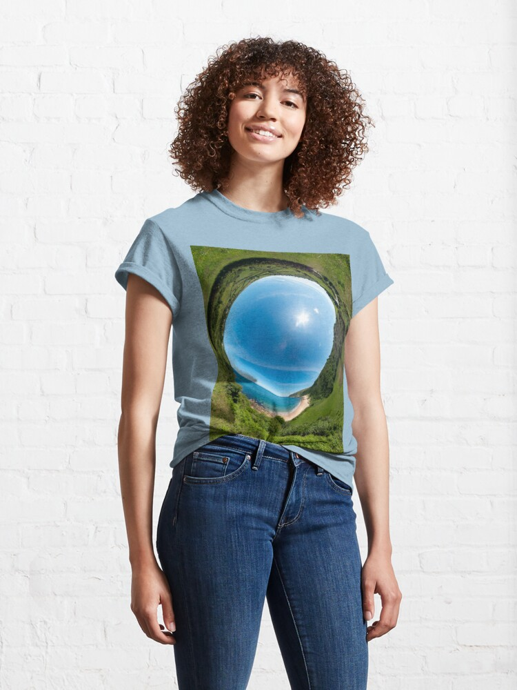 Alternate view of Kinnagoe Bay - Sky In Classic T-Shirt