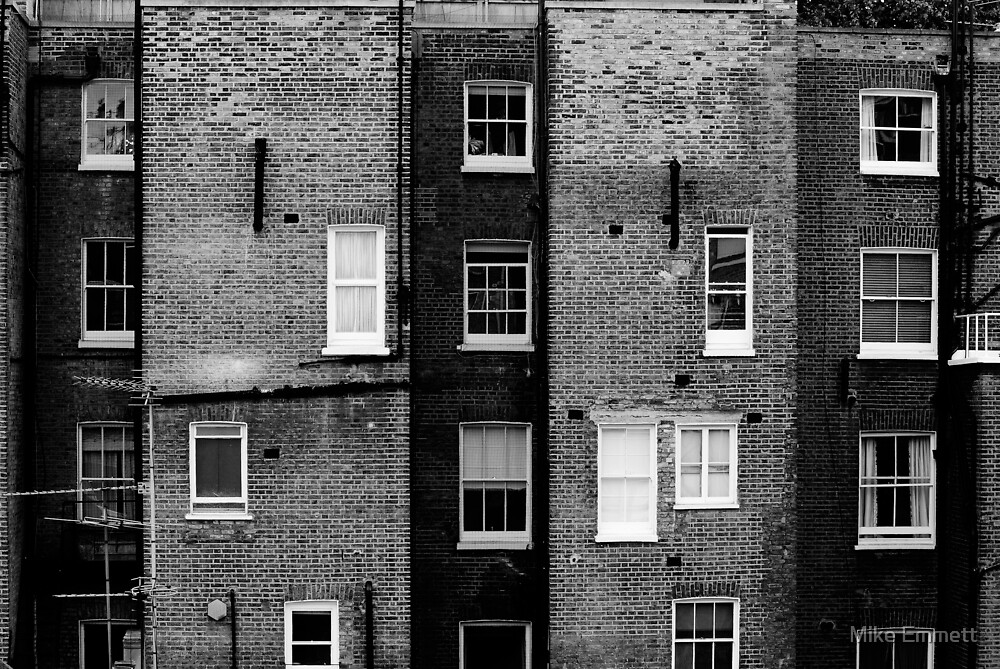 Waking up in London by Mike Emmett