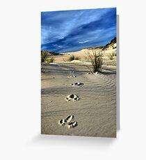 Emu Tracks 2. Greeting Card